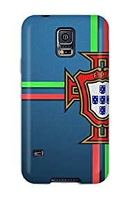 Tpu Shockproof/dirt-proof Portugal 8211 2014 Fifa World Cup Brazil Cover Case For Galaxy(s5)