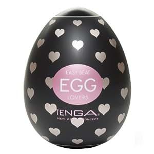 Tenga Lovers Egg, Black, Small