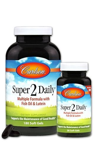 Super Daily Carlson Laboratories Softgel