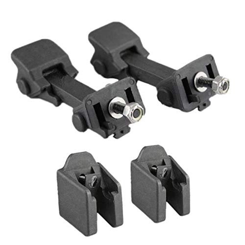 Trunknets Inc Left Right Side Hood Latch Catch & Bracket Pair for Jeep Wrangler 1997 98 99 00 01 02 03 04 05 2006 ()