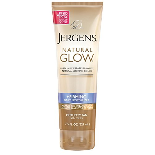 Jergens Natural Glow + Firming Daily Moisturizer Medium to Tan Skin Tones 7.5oz by Jergens