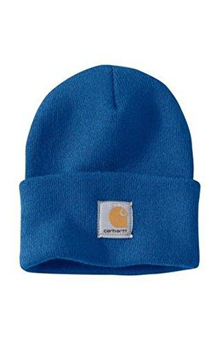 Carhartt - Casquette Acrylique - Bleu A18432 Homme d'hiver Beanie Ski bonnet CHA18CBB