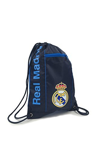 REAL MADRID Official Licensed NAVY CINCH BAG SACK by ICON SPORTS by Icon Sports