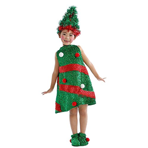 Haocloth Christmas Costumes For Kids Children's Christmas tree Costume Christmas Costume Santa Costume For Kids