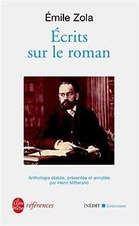 Écrits sur le roman par Émile Zola