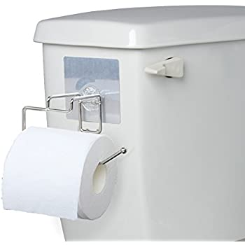 Elegant EzHome Add Toilet Paper Holder Without Making Holes In Your RV For RV/Small  Bathroom