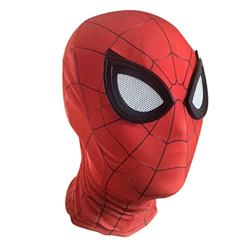 Coshot Unisex Iron Mask One Size Homecoming Superhero Headwear ()