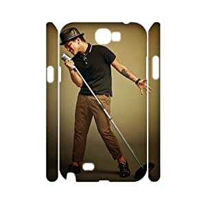 D-PAFD Bruno Mars Customized Hard 3D Case For Samsung Galaxy Note 2 N7100