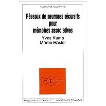 Reseaux de neurones recursifs pour memoires associatives