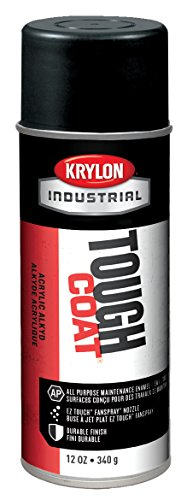 (Krylon Products Group 12 Ounce Aerosol Can High Heat Black Krylon Tough Coat Acrylic Enamel Paint (Set of 12/EA))
