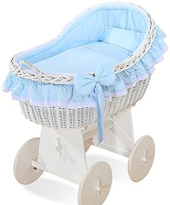 landau en osier pour bébé