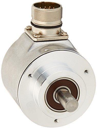 Hengstler 0522123 RI58-O/1000EK.42KD Incremental Encoder, 10 mm Solid Shaft, 1000 Pulses, Grey by HENGSTLER