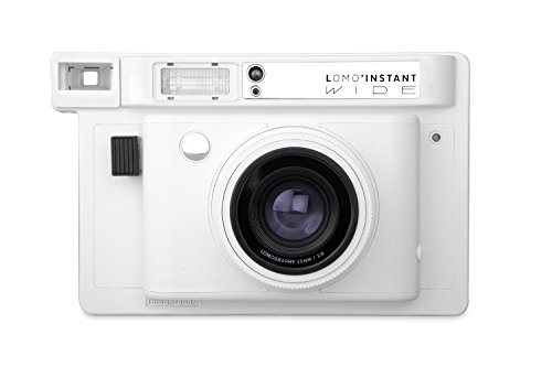 Lomography Lomo'Instant Wide Camera White – Instant Film Camera