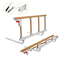 Bed Rail Safety Assist Handle Bed Railing for Elderly & Seniors, Adults, Children Guard Rails Folding Hospital Bedside Grab Bar Bumper Handicap Medical Assistance Devices