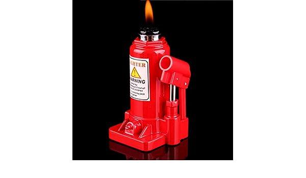 Itlovely Mini Creative Butane encendedor llave de canasta de ...