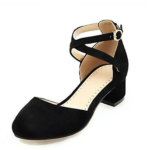 Sandalo Con Cinturino Alla Caviglia E Cinturino Alla Caviglia Con Punta Arrotondata E Cinturino Alla Caviglia