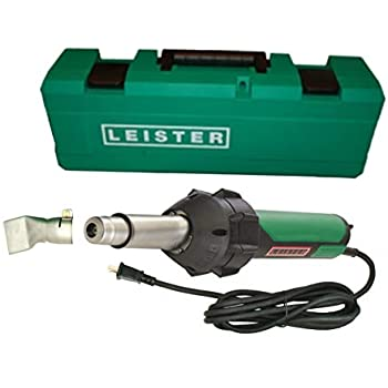 Leister Triac ST 141.288 Hand Held Plastic Welder w/ 40mm Nozzle