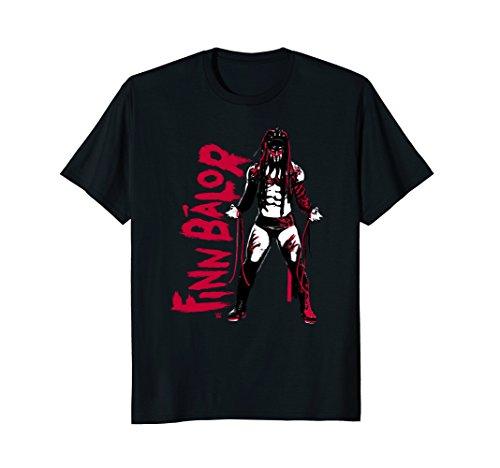 Mens WWE Finn Balor Vertical Type 2 Color Full Body Small Black by WWE
