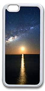 iPhone 6 Cases, Personalized Protective Case for New iPhone 6 Soft White Edge The Sun Down