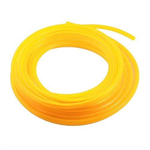 I-clear ang Yellow Polyurethane Fuel Gas Niyumatik Air PU Tube 8mmx12mmx10M ()