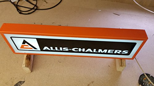 Allis Chalmers Light up sign Lighted 30x10x5