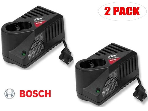 SKIL Multi Voltage Replacement 1 Hour 7.2V - 18V Charger # 2607224861 (2 PACK)