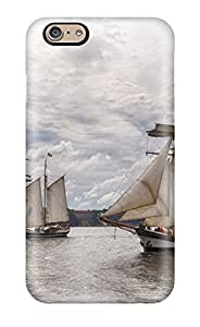 5732017K52967921 Snap-on Sail Boat Case Cover Skin Compatible With Iphone 6