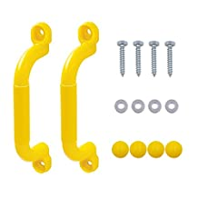Startostar Safety Handles for Playsets, Set of 2 - Red (Yellow)