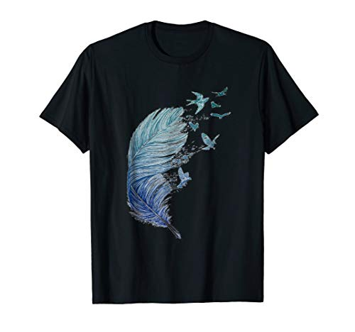 Freedom As A Feather, As Birds in The Sky T-shirt