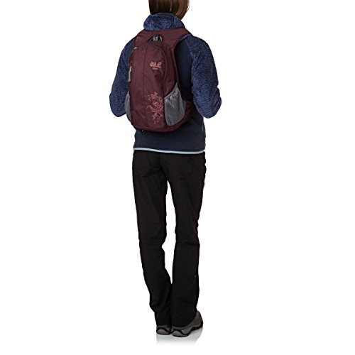 jack wolfskin damen rucksack daypack ancona schwarz