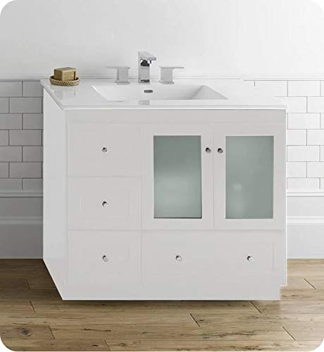 Amazon.com: RONBOW Essentials Shaker 36 Inch Bathroom Vanity ...
