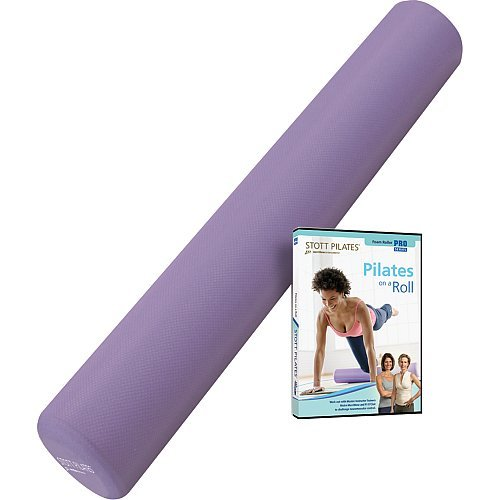 STOTT PILATES Foam Roller Deluxe with Pilates on a Roll ()