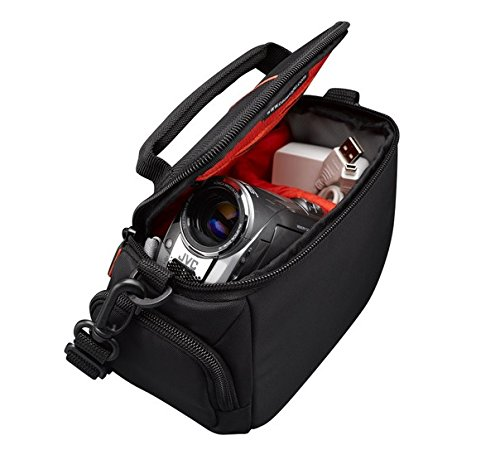 camera & photo, accessories, cases & bags,  camcorder cases  on sale, Case Logic DCB305 Compact Camcorder Kit Bag with Interior Dividers and Side Storage Compartments deals2