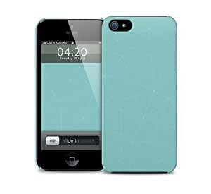 Turquoise Lines iPhone 5 / 5S protective case by icecream design