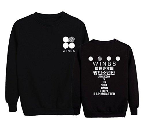 WINGS Sweater Bangtan Pullover Sweatshirt
