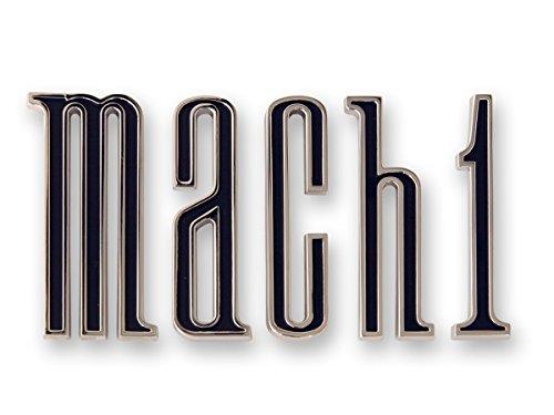 Mustang Trunk Emblem Mach 1 Set 1970 (Mustang Mach 1 Trunk)