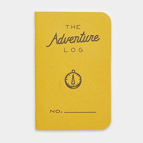 Word Notebooks Adventure Log - Yellow 3-Pack - Traveler's Pocket Notebooks Photo #3
