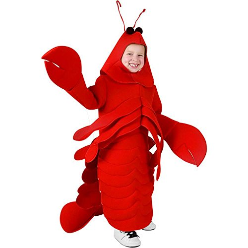 [Kid's Lobster Halloween Costume (Size: Small 4-6)] (Crab Costumes)