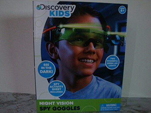 Discovery Kids Night Vision Spy Goggles (Cool Spy Stuff For Kids compare prices)
