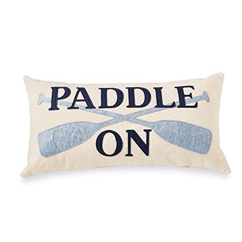 Mud Pie Lake Pillow