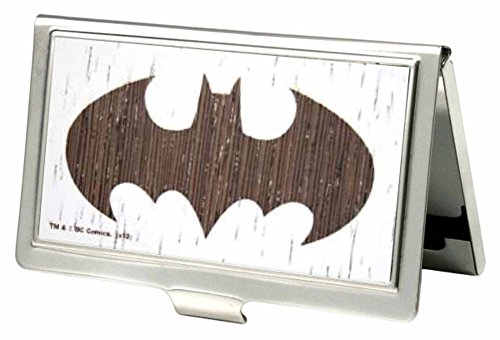 Buckle-Down Metal Wallet - Batman Gw White Accessory at Gotham City Store