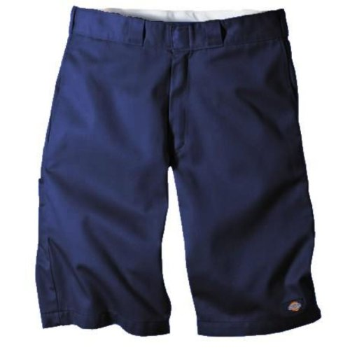Multi Pocket Work Shorts (Dickies Men's 13 Relaxed Fit Multi-Pocket Work Short, Dark Navy, W34)