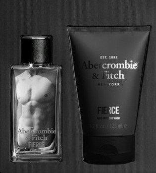 Abercrombie & Fitch Fierce Eau de Cologne 2 pcs Gift Set for Men 1.7 oz Cologne, 4.2 oz Body Wash
