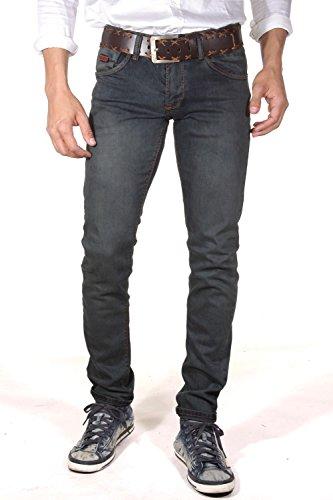 BRIGHT JEANS Jeans slim fit (blau)