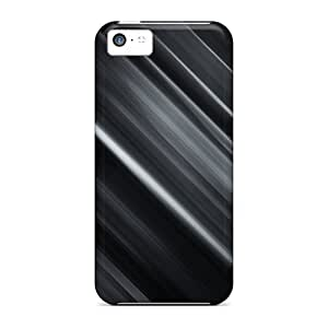 For Iphone 5c Tpu Phone Case Cover(grey)