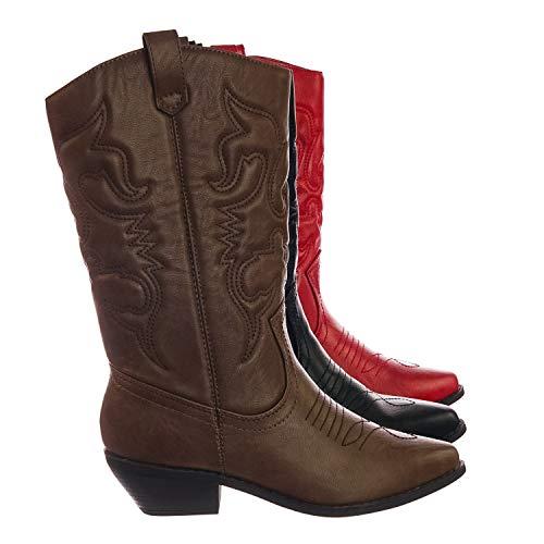 soda womens cowboy boots - 6
