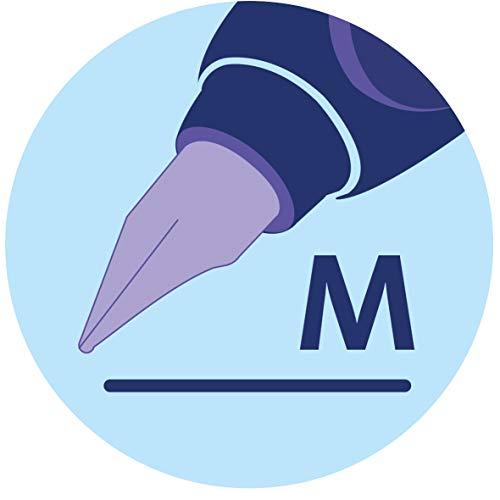 Pelikan Twist 947101 Fountain Pen in Folding Box Universal for Right-Left-Handers with M Nib Silver