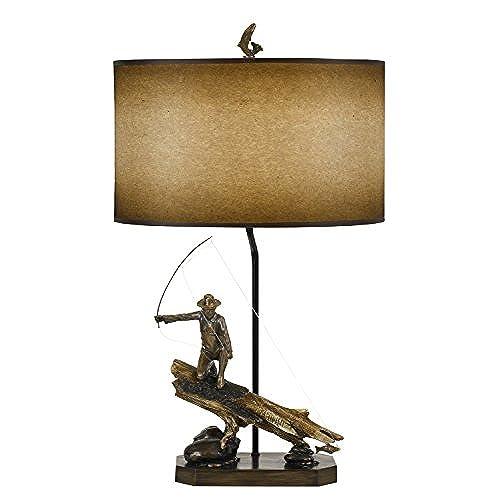 Cal Lighting BO 2657TB One Light Table Lamp