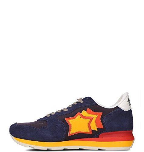 Leather Atlantic Blue Sneakers ANTARVB27R Men's Stars qSwZCxSA