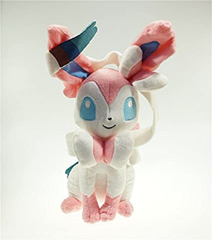 "30cm 12"" Pokemon Sylveon Plush Toy Stuffed Doll Figure"